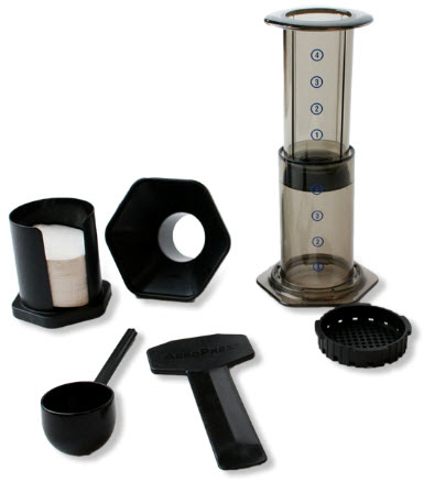 Travel Coffee Maker Kit : AeroPress: Coffee/Espresso Travel Maker w/ Tote Bag eBay